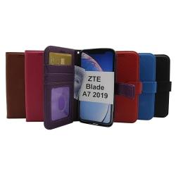 New Standcase Wallet ZTE Blade A7 2019 Svart