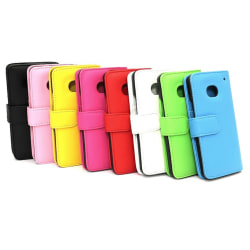 Plånboksfodral HTC One (M7) Gul