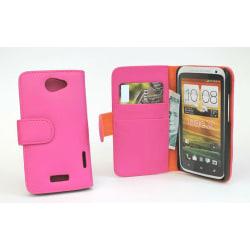 Plånboksfodral HTC One X Rosa