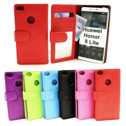 Plånboksfodral Huawei Honor 8 Lite Hotpink