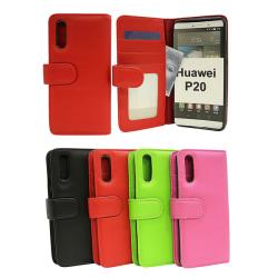 Plånboksfodral Huawei P20 (EML-L29) Grön