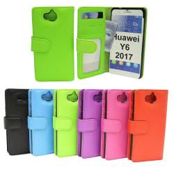 Plånboksfodral Huawei Y6 2017 (MYA-L41) Ljusblå