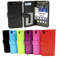 Plånboksfodral Huawei Y6 II Ljusblå
