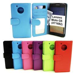 Plånboksfodral Lenovo Moto G5 (XT1682 / XT1676) Lila
