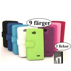 Plånboksfodral LG L70 (D320) Svart