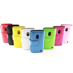 Plånboksfodral Nokia Lumia 620 Hotpink