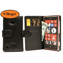 Plånboksfodral Nokia Lumia 720 Ljusrosa