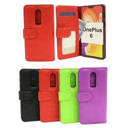 Plånboksfodral OnePlus 6 Svart
