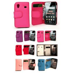 Plånboksfodral Samsung Galaxy Ace Röd