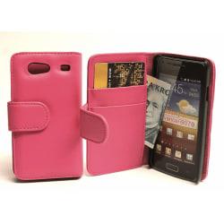 Plånboksfodral Samsung Galaxy S Advance Hotpink