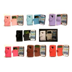 Plånboksfodral Samsung Galaxy S3 Mini Brun