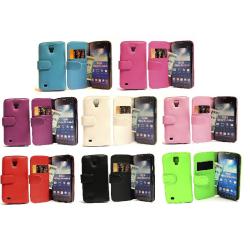 Plånboksfodral Samsung Galaxy S4 Active (i9295) Hotpink