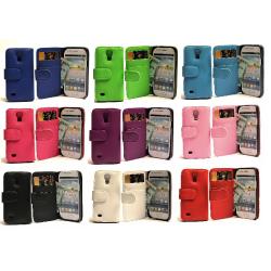 Plånboksfodral Samsung Galaxy S4 Mini (i9195/i9190) Lila