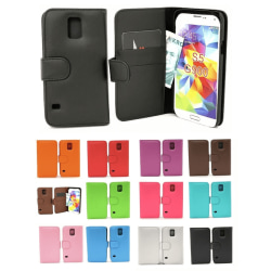 Plånboksfodral Samsung Galaxy S5 / S5 Neo (G900F / G903F) Lila