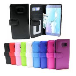 Plånboksfodral Samsung Galaxy S6 Edge+ (SM-G928F) Blå