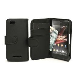 Plånboksfodral Sony Xperia M (c1905) Svart