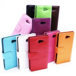 Plånboksfodral Sony Xperia M2 (D2303) Svart