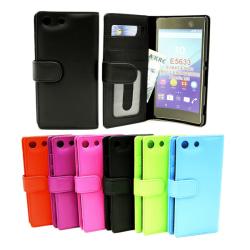 Plånboksfodral Sony Xperia M5 (E5603 / E5633) Grön