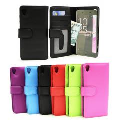 Plånboksfodral Sony Xperia X (F5121) Hotpink