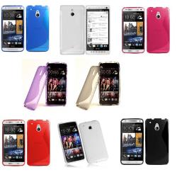 S-Line skal HTC One Mini (M4) Vit