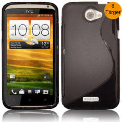 S-line skal HTC One X Vit
