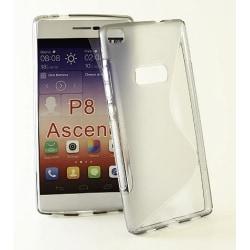 S-Line skal Huawei P8 Grå Vit