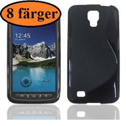 S-line skal Samsung Galaxy S4 Active (i9295) Clear