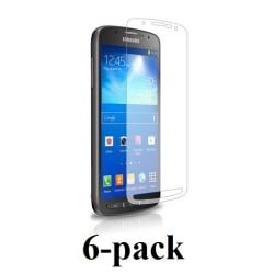 Samsung Galaxy S4 Active skärmskydd 6-pack