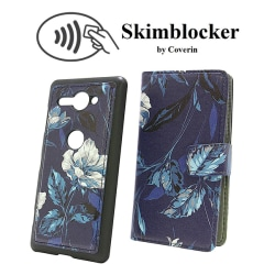 Skimblocker Magnet Designwallet Sony Xperia XZ2 Compact