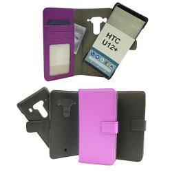 Skimblocker Magnet Wallet HTC U12 Plus / HTC U12+ Svart