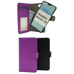 Skimblocker Magnet Wallet Huawei Honor 10 Svart