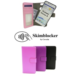 Skimblocker Magnet Wallet Huawei Honor 8 Svart