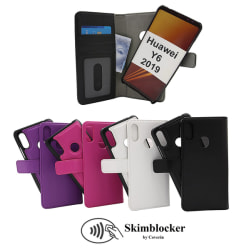 Skimblocker Magnet Wallet Huawei Y6 2019 Svart