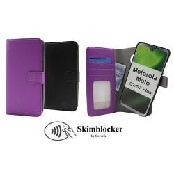 Skimblocker Magnet Wallet Motorola Moto G7 / Moto G7 Plus Svart