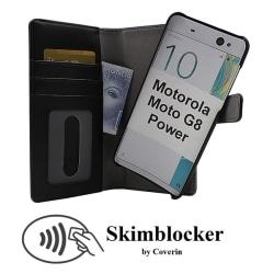 Skimblocker Magnet Wallet Motorola Moto G8 Power