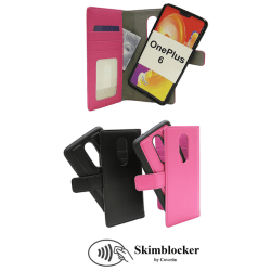 Skimblocker Magnet Wallet OnePlus 6 Svart