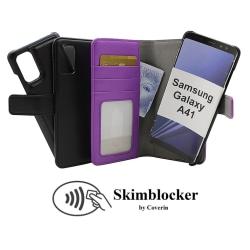 Skimblocker Magnet Wallet Samsung Galaxy A41 Svart