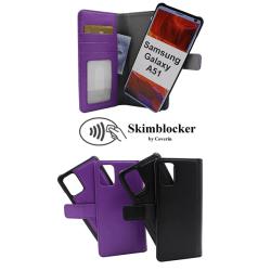 Skimblocker Magnet Wallet Samsung Galaxy A51 (A515F) Svart