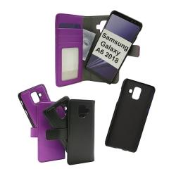 Skimblocker Magnet Wallet Samsung Galaxy A6 2018 (A600FN/DS) Lila