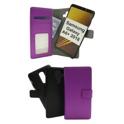 Skimblocker Magnet Wallet Samsung Galaxy A6+ 2018 Lila