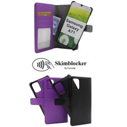 Skimblocker Magnet Wallet Samsung Galaxy A71 (A715F) Svart