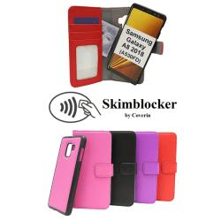 Skimblocker Magnet Wallet Samsung Galaxy A8 2018 (A530FD) Svart