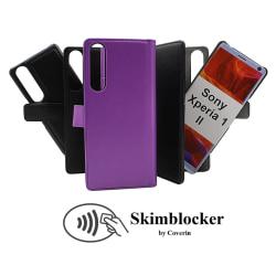 Skimblocker Magnet Wallet Sony Xperia 1 II (XQ-AT51) Svart
