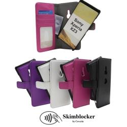 Skimblocker Magnet Wallet Sony Xperia XZ3 Svart