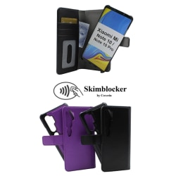 Skimblocker Magnet Wallet Xiaomi Mi Note 10 / Note 10 Pro Svart