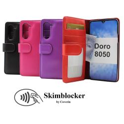 Skimblocker Plånboksfodral Doro 8050 Svart