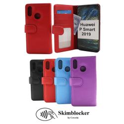 Skimblocker Plånboksfodral Huawei P Smart 2019 Lila