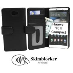 Skimblocker Plånboksfodral Huawei Y6 II Compact (LYO-L21)