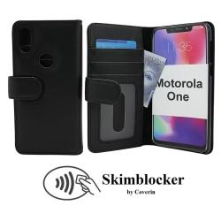 Skimblocker Plånboksfodral Motorola One