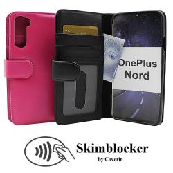 Skimblocker Plånboksfodral OnePlus Nord (Svart) Svart